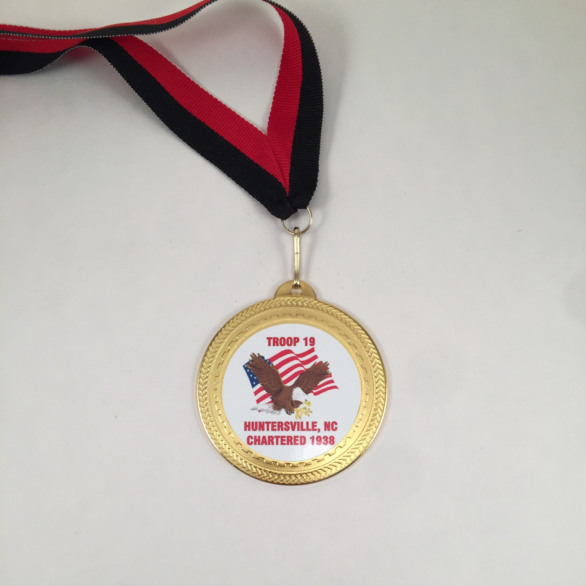 Sublimated Medal