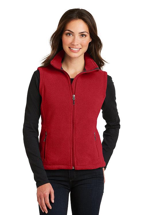 Port Authority® Ladies Fleece Full Zip Vest