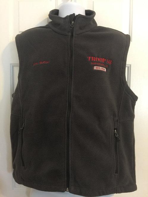 Port Authority® Men's Fleece Full Zip Vest