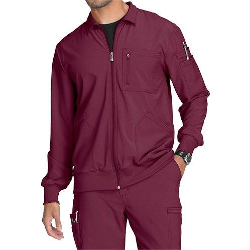 SAFETY - Infinity® Men's Zip Front Warm-Up Scrub Jacket