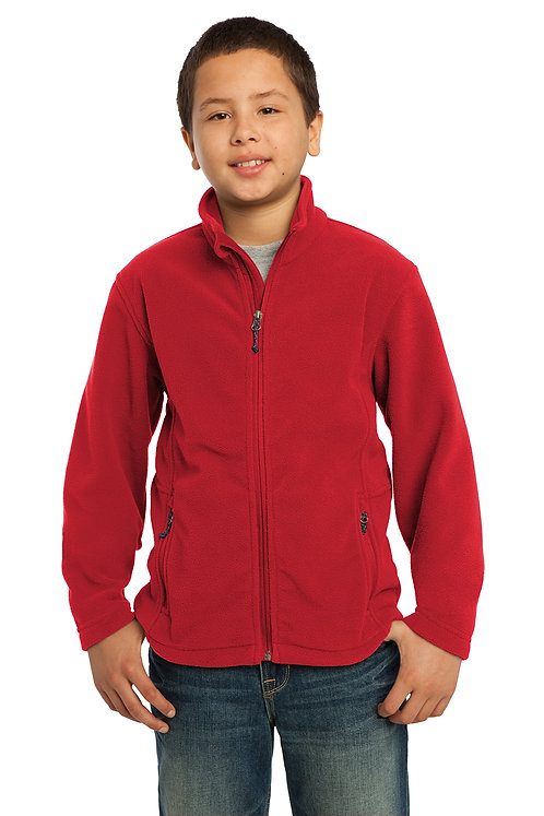 Port Authority® Youth Fleece Full Zip Jacket