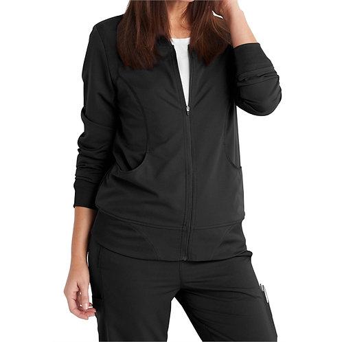 STAFF - Dickies® Women's Dynamix Track Style Knit Trimmed JacketRN