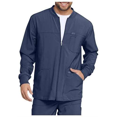 RN - Dickies® Men's EDS Essentials Full Zip Front Scrub Jacket