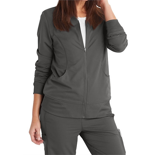 CNA - Dickies® Women's Dynamix Track Style Knit Trimmed Jacket