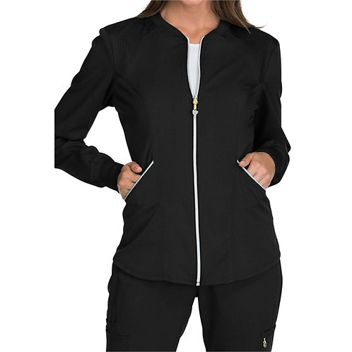 Support - Luxe Women's Sport Zip Front Warm-up Jacket WS