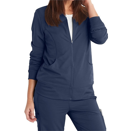 RN - Dickies® Women's Dynamix Track Style Knit Trimmed Jacket