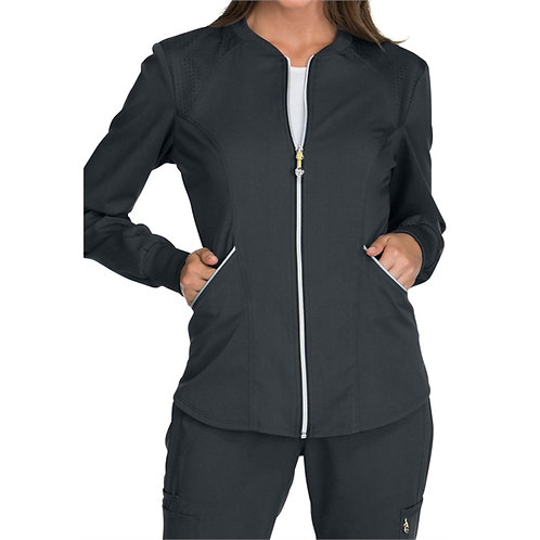 CNA - Luxe Women's Sport Zip Front Warm-up Jacket WS