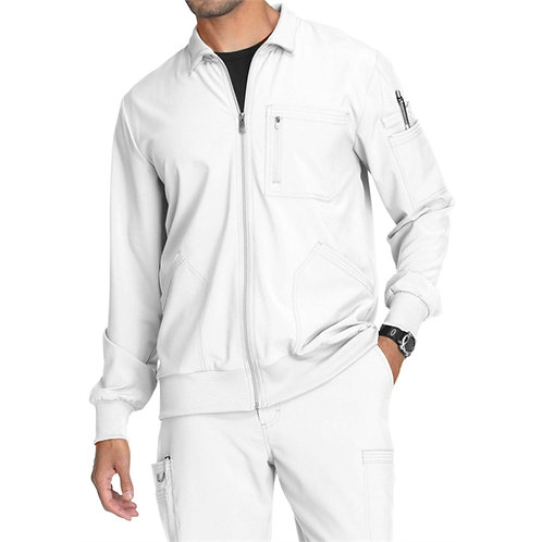 RN - Infinity® Men's Zip Front Warm-Up Scrub Jacket WS