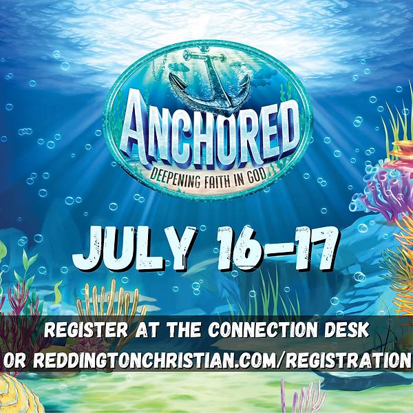 Register at the connection desk or reddi