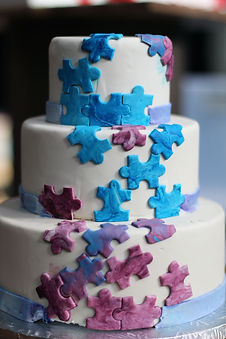 Puzzle cake by Inclusions Bakery and Dessert Bar