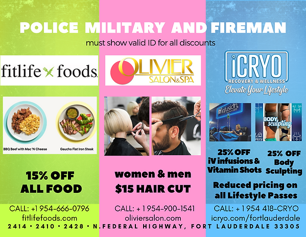 Military Police  Fireman discount Olivie