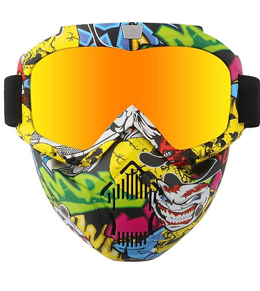 Deux Sky x Urchin 2 Piece Mask