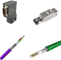 conectores e cabos adversos