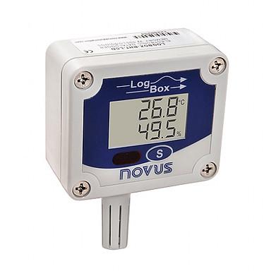 LogBox -RHT-LCD- Registrador Eletrônico de Umidade e Temperatura