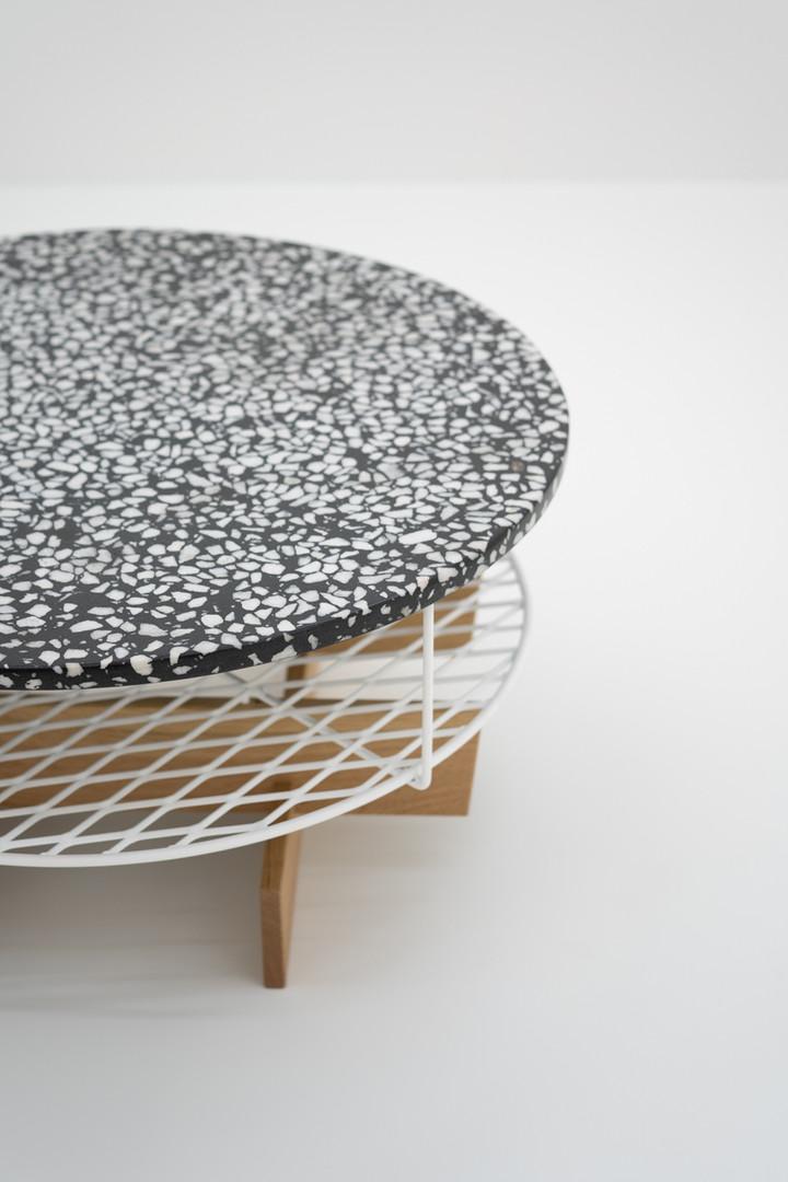 Alexander Conci terrazo coffee table
