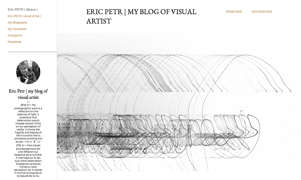ERIC PETR | MY BLOG OF VISUAL ARTIST