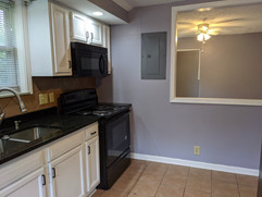 Newer electric range/stove and microwave