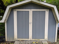 Private storage shed