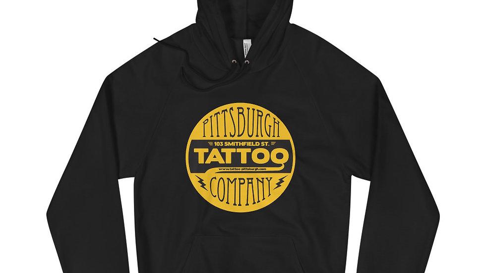 Pittsburgh Tattoo Logo Hoodie