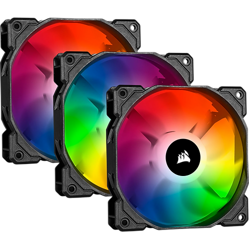 Corsair iCUE SP120 RGB PRO Performance 120mm Triple Fan Kit