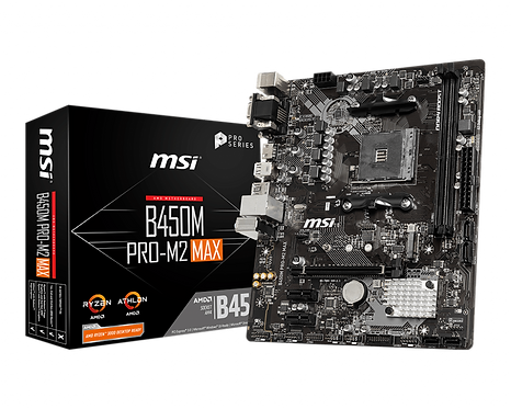 MSI B450M Pro-M2 Max Micro-ATX
