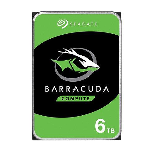 Seagate Barracuda HDDs - 6TB