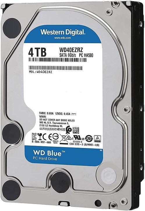 Western Digital Blue HDDs - 4TB