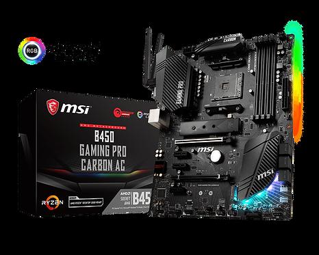 MSI B450 Gaming Pro AC Carbon ATX