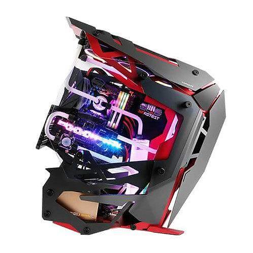 Antec Case TORQUE Tempered Glass Aluminum Mid Tower - Red/Black