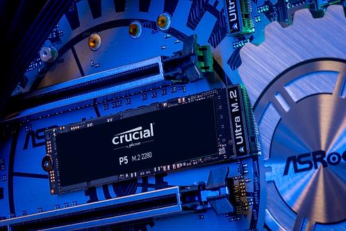 CRUCIAL P5 1TB 3D PCIE NVME M.2 SSD
