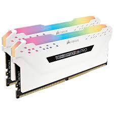 Corsair Vengeance RGB DDR4 RAM - 2x16GB 3466Mhz - White