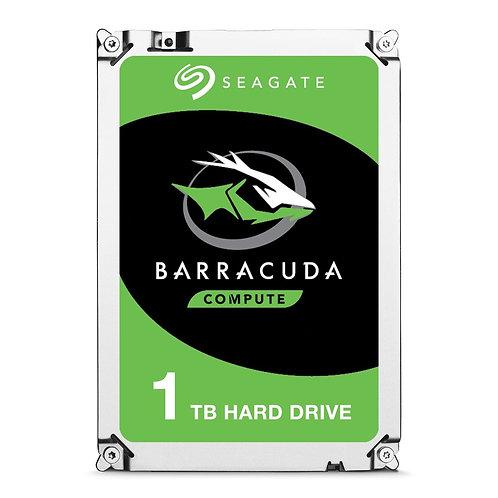 Seagate Barracuda HDDs - 1TB