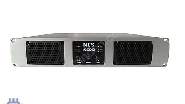 MCS 2002 POWER AMPLİFİKATÖR 300WATT