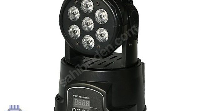 BLUESTAR LM-718 LED BOYAMA EFEKT IŞIK 7x18W LED