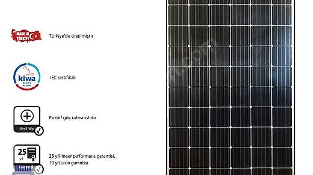 335 Watt Monokristal Güneş (SOLAR) Panel