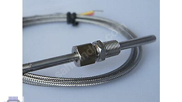J Tipi TERMOKUPL FE-CONST Kablo Boyu 1mt Prob 11cm