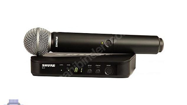 %100 orjinal, SHURE kablosuz mikrofon