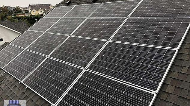 20kWATT ONGRID Çatı güneş enerji sistemi GES