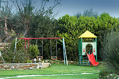 Politia Villas in Karystos playground