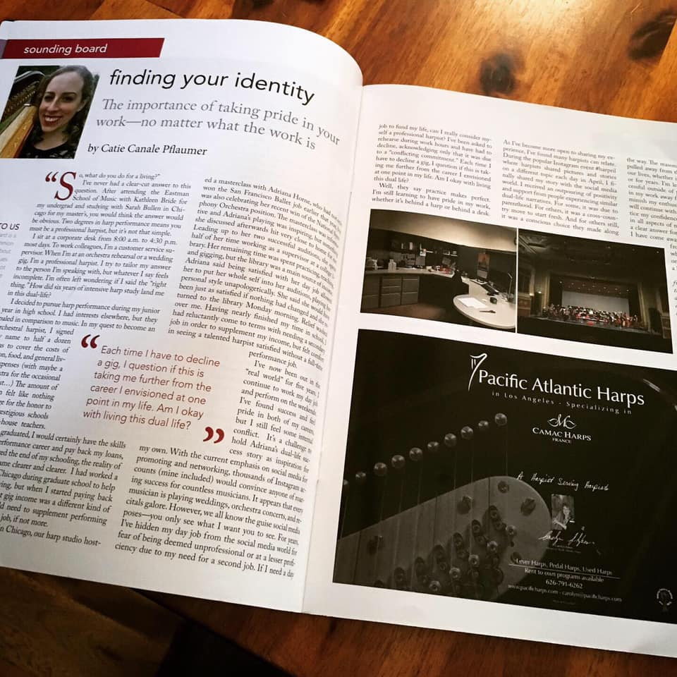 Harp Column Magazine