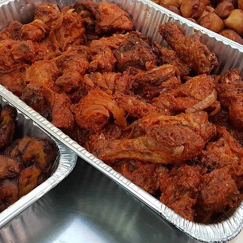 Peppered Chicken Tray