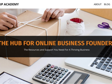 Digital Startup Academy launched a new website