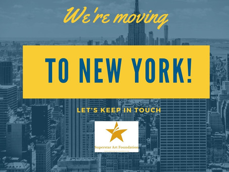 We are moving to New York