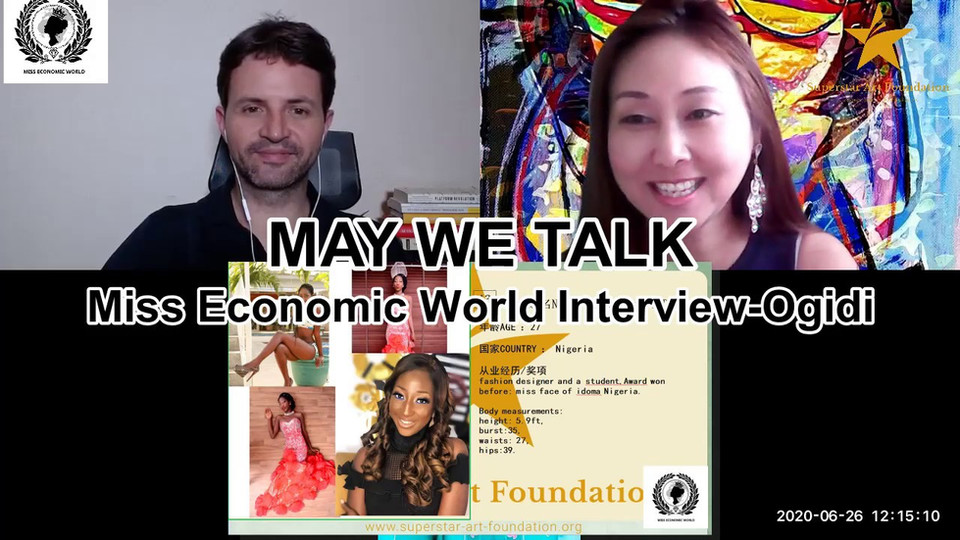May We Talk-Miss Economic World Interview Ogidi