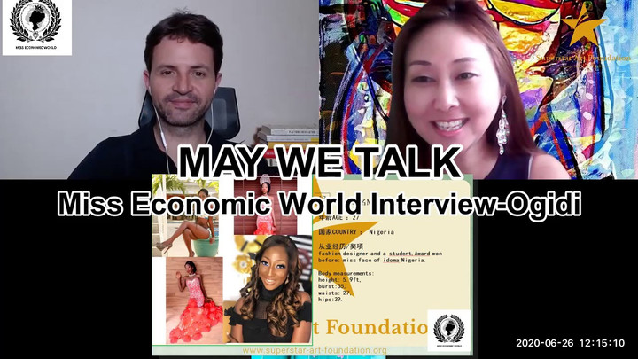 May We Talk-Miss Economic World Interview Ogidi