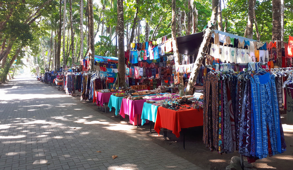 Marché de Dominical,  photo de Fernanda