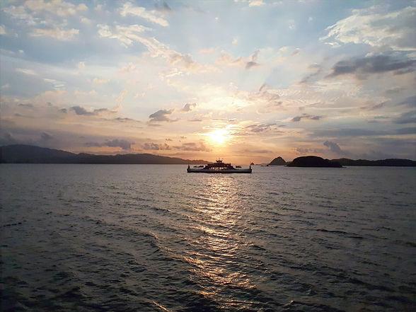 Traversée du Golfe de Nicoya en ferry