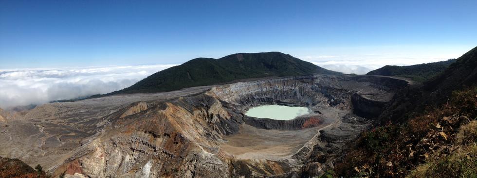 Volcan Poás, photo de Simon Juillerat