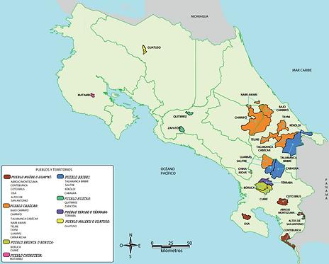 Indigenous territories of Costa Rica