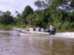 Canal fluvial, Parc National Tortuguero